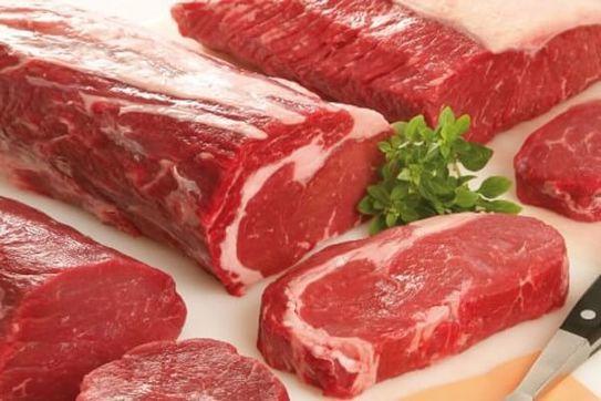 Thịt bò nguyên liệu cho món bò nhúng dấm