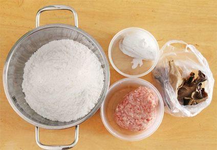 Nguyên liệu làm bánh rán mặn